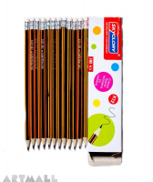 "651HB- ""Sky glory"" wood pencil (12pcs)"