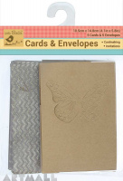 Butterfly Cards & Printed Envelops 10Pc