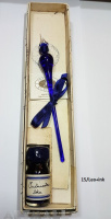 Glass pen in gift box with ink