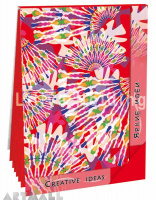"Notepads ""Creative Ideas"", color Red"